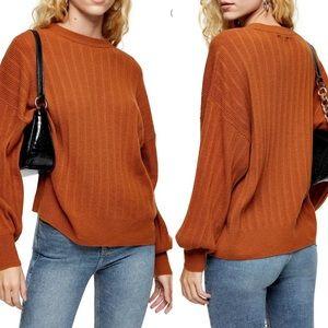Top shop Drop Armhole Crew Sweater m
